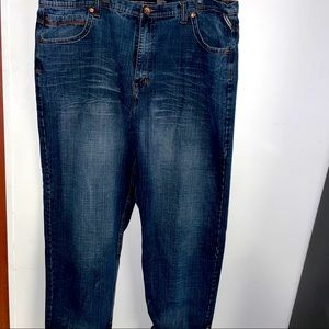 Royal blue jeans 48w 34l